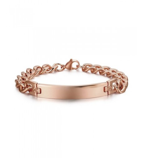 Personalized Custom Engraving Stainless Bracelets