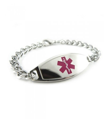 MyIDDr Pre Engraved Customized Alzheimers Bracelet