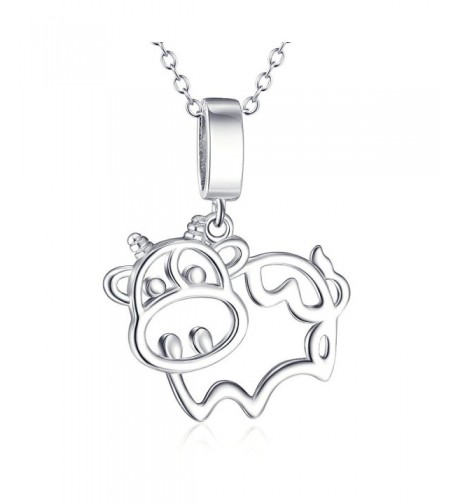 Sterling Silver Animal Pendant Necklace