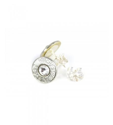 Winchester Bullet Earrings Swarovski Crystals