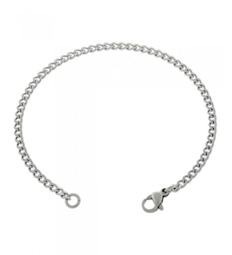 Womens Stainless Steel Anklet Inches