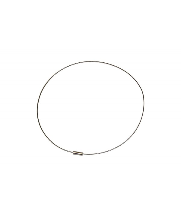 Silver Stainless Choker Chokers Necklace