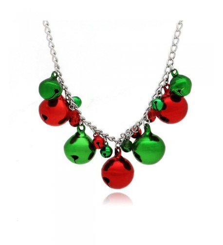 Christmas Jingle Bells Necklace Holiday