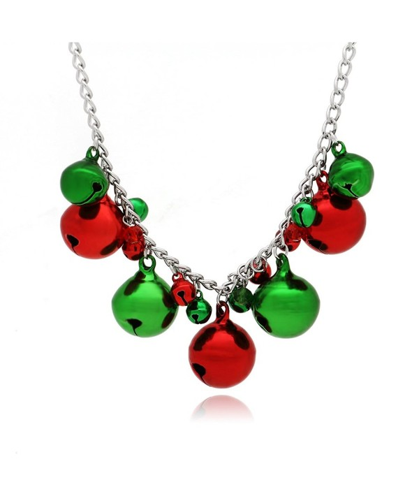 Christmas Jingle Bells Necklace Holiday