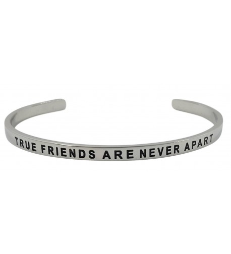 Inspirational Bracelet FRIENDS DISTANCE Friendship