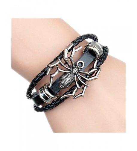 Leather Bracelet Bangle Jewelry Wristband