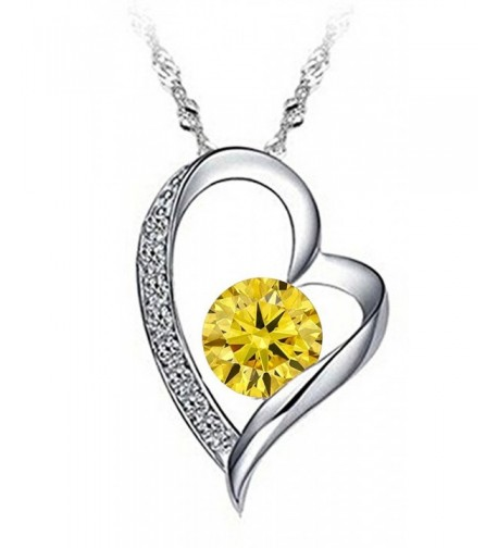 Tyjewelry Plated Silver Pendant Necklace
