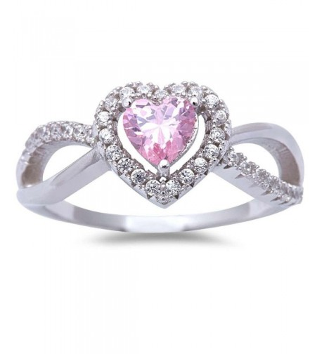 Cubic Zirconia White Sterling Silver