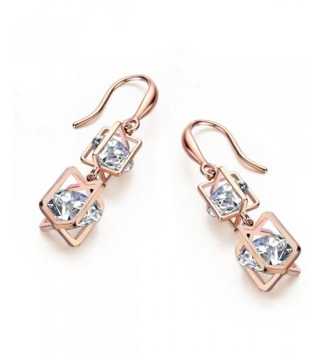 SBLING Plated Cubic Zirconia Earrings