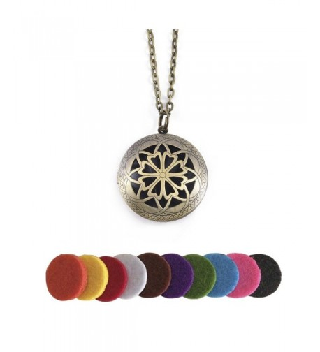 Aromatherapy Essential Diffuser Pendants Necklaces