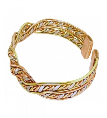 Womens Copper Magnetic Bracelet Inches