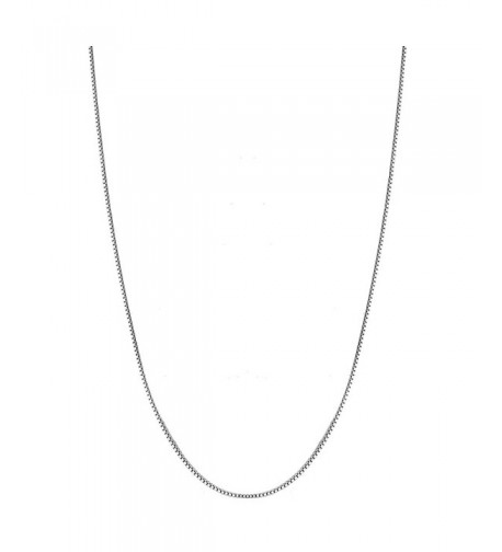 Sterling Silver Italian Chain Necklace