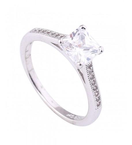 Acefeel Fashion Four claw Wedding Engagement