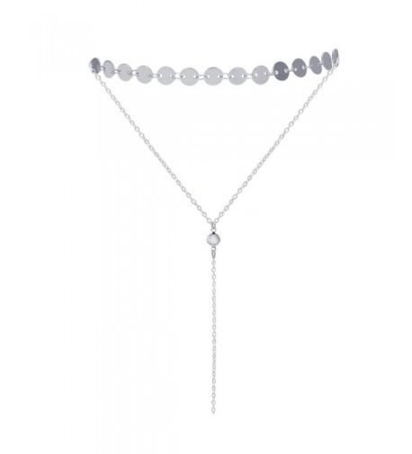 Sedmart Adjustable Choker Necklace Lariat