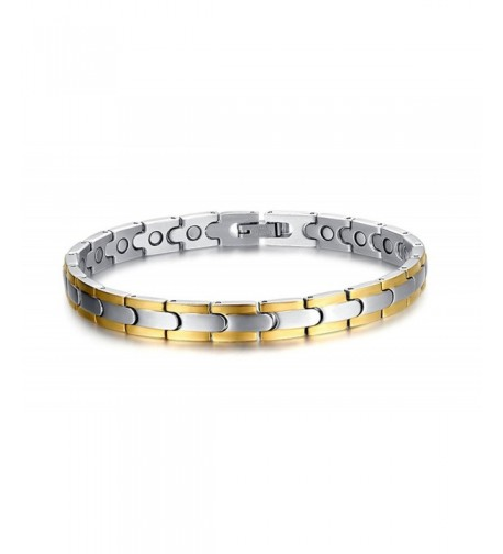 Stainless Healthy Magnetic Therapy Bracelet