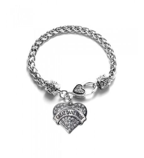 Bracelet Silver Plated Lobster Crystal