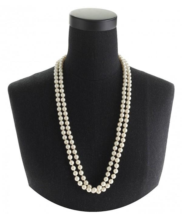 6c6e2dd89 Cream Pearl Necklace Set 60