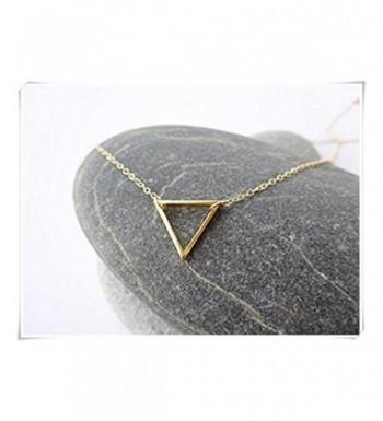 sea maiden Triangle Necklace Delicate Layering