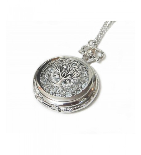 Ornate Silver Pocket Necklace Pendant