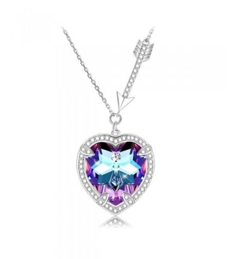 KissYan Necklace Swarovski Crystals Eternal