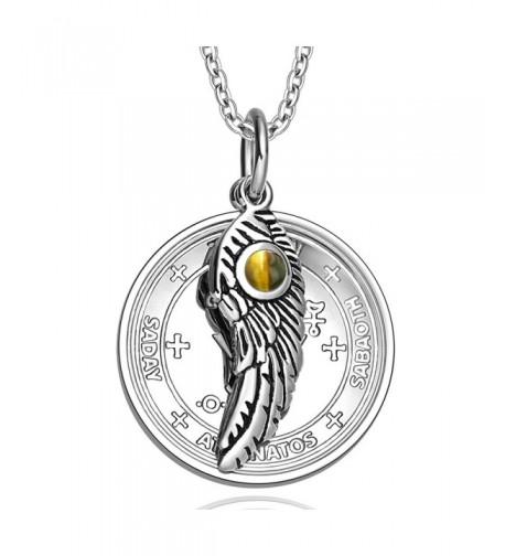 Archangel Michael Amulet Pendant Necklace