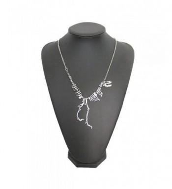 JoJo Lin Dinosaur Pendant Necklace