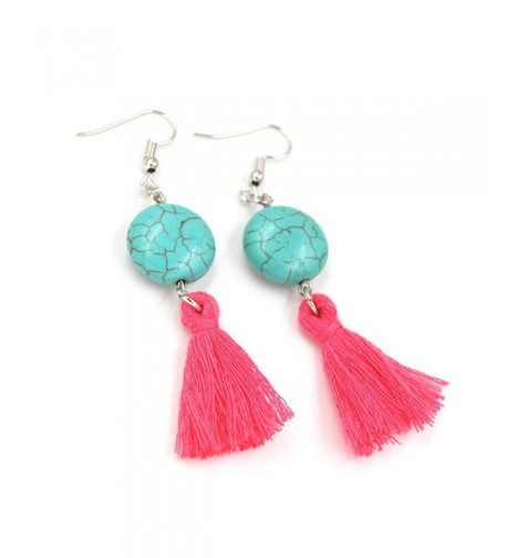 SUNGULF Bohemia Earrings Handwork Turquoise