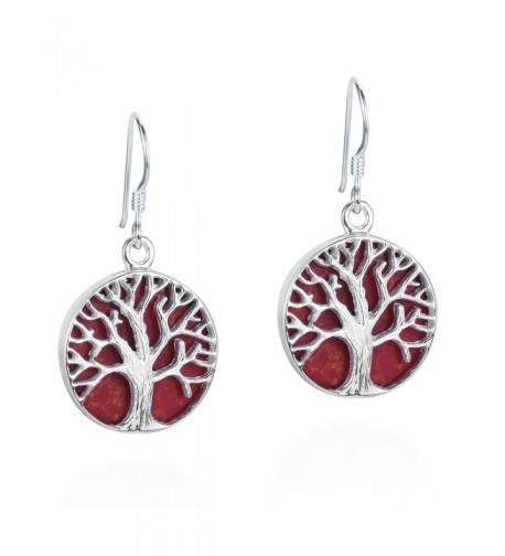 Mystical Reconstructed Sterling Silver Earrings