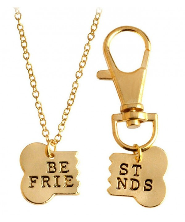 Friendship Jewelry Friends Necklace Keychain