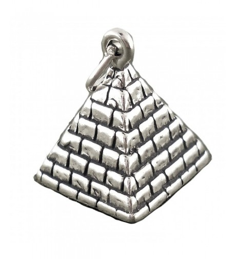 Corinna Maria Sterling Silver Pyramid Charm