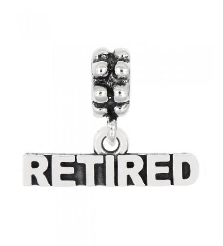 Sterling Silver Oxidized Retired Talking