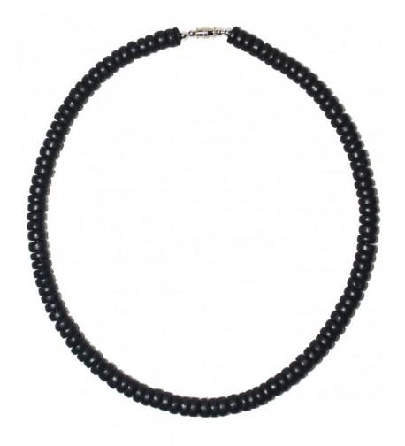 Native Treasure Black Surfer Necklace