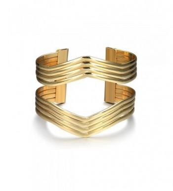 Starshiny Geometric Bracelet Charm Bangles