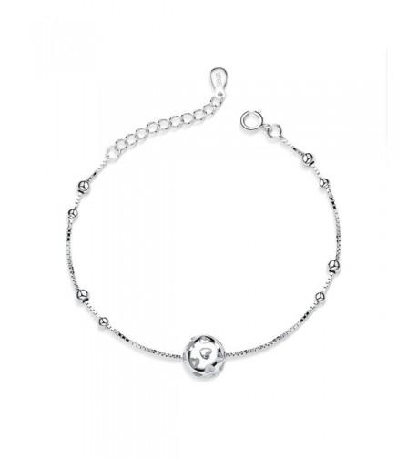 Jazlyn Womens Sterling Silver Bracelet