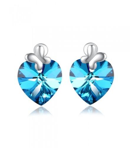 PLATO Heart Earring Swarovski Crystals