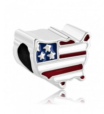 Pugster Patriotic American Country Bracelet