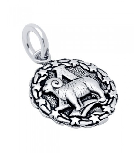 925 Sterling Silver Aries Zodiac