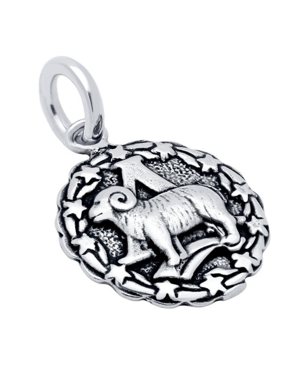 925 Sterling Silver Aries Zodiac