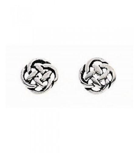 Celtic Earrings Sterling Silver Approx