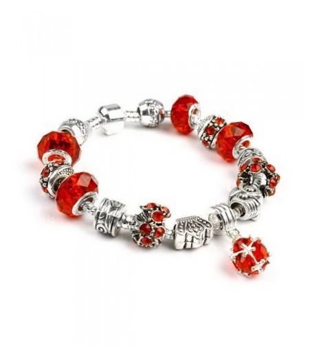 Christmas Shaped Diamond Crystal Bracelet