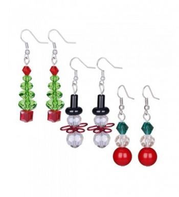 Zhenhui Handcrafted Earrings Multicored Valentines
