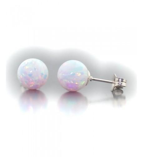 Trustmark Sterling Created Earrings Lorraine