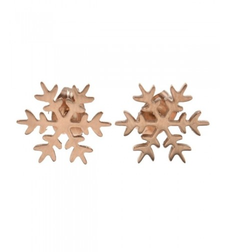 BetterUS Snowflake Earring Women Jewelry