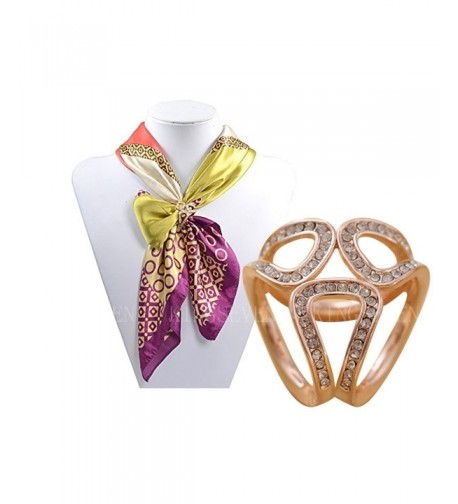 KINGSEVEN Exquisite Tricyclic Scarves Crystal