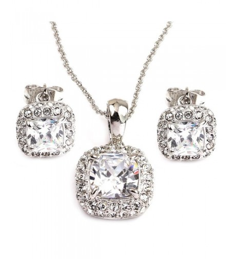 FC JORY Crystal earrings necklaces