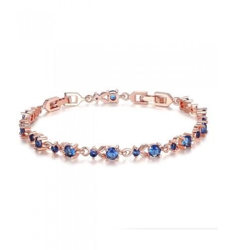 Bamoer Slender Bracelet Sparkling Zirconia