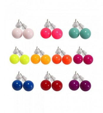 colors Assorted Imitation Earrings Colors