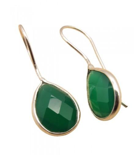 Sterling Gemstones Polished Teardrop Birthstone