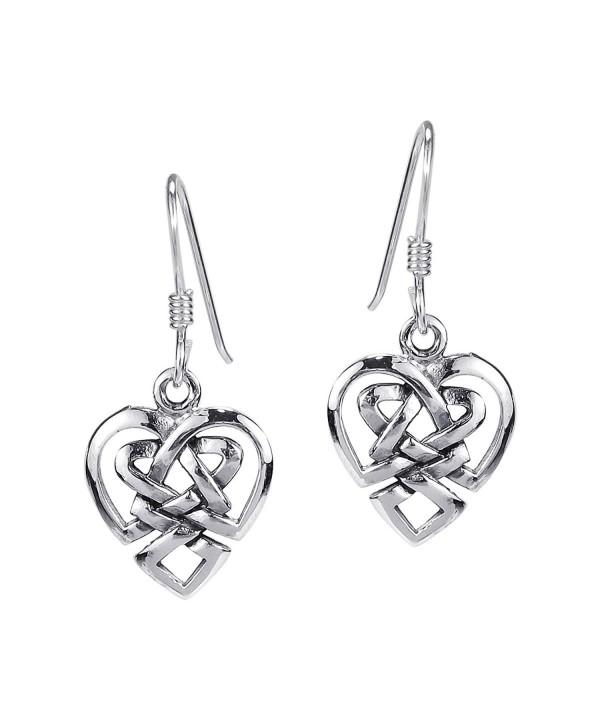 Union Celtic Sterling Silver Earrings