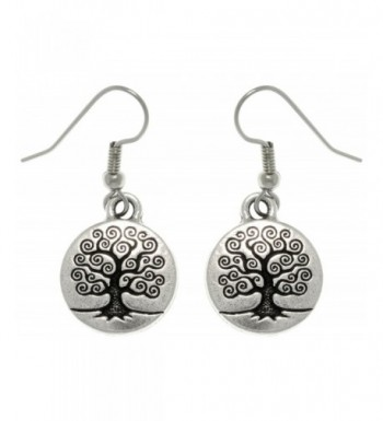 Jewelry Trends Antiqued Pewter Earrings